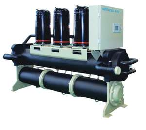 modular type water cooled scroll chiller