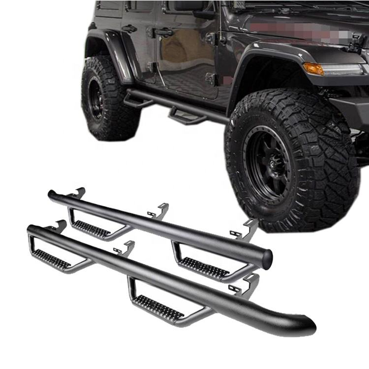 2019 2018 JL Side Step Nerf Bar Running Board for Wrangler JL Step Bars