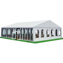Aluminum or Steel Outdoor Waterproof Trade Show Church Tents for 300 People
