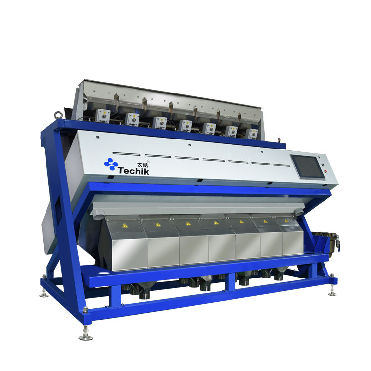 High Capacity Rice Color Sorter Rice Separation Machine