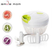 A363-B Kitchen accessory home use 400ml garlic twister mini manual food chopper
