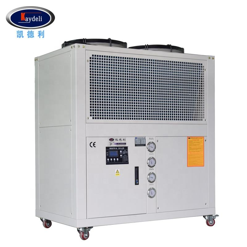 7 tons glycol water chiller 21.2kw cooling capacity industrial small for system