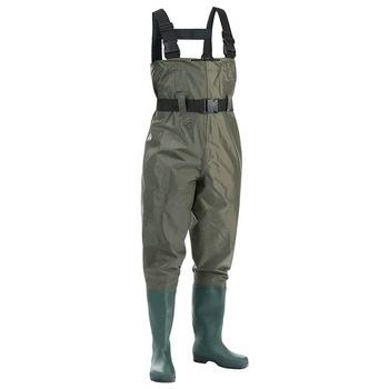 Waders Good Quality OEM Manufacture High Quality Breathable PVC Wader Fish Suit