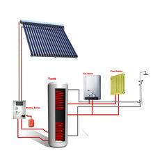 2019 Most popular products china heat pipe solar water heater system