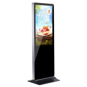 55 Inch Touchscreen Electronic Kiosk Digital Signage Player Advertisement Equipment