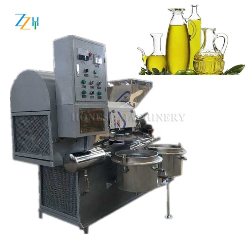 Automatic Olive Oil Press Machine / Cold Press Oil Machine For Sale With High Quality