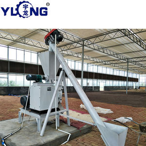 HKJ250 YULONG animal fodder feed pellet machine