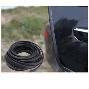 Car Door Edge Scratch Protector Strips Auto Stickers Seal Rubber Strips Tools