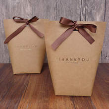 THANK YOU Gift Box Paper Presents Bag Candy Boxes Wedding Favors Party Decor