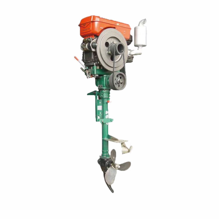 The Best 7GS series 6HP-220HP Diesel Used Outboard Motor For Fishermen and Tourism