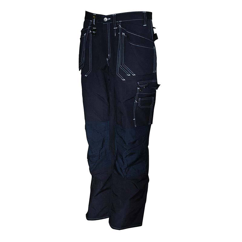 High quality Mens cargo combat dark blue wear builder work trousers