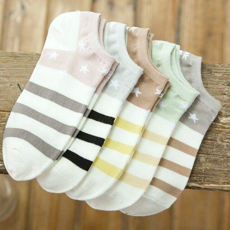 Assorted popular designed cheap fishing ankle sock for women