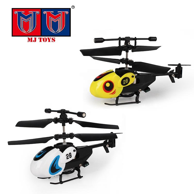 360 degree rotation 2.5CH rc mini helicopter toy with light