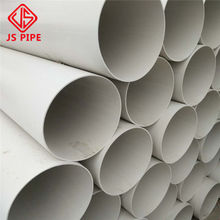Factory Wholesale 4 Inch Plastic PVC Drainage Pipe