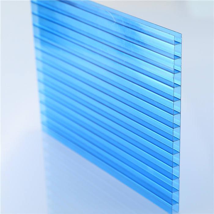 2018 new translucent polycarbonate twin tường bảng điều khiển pc cho skylight