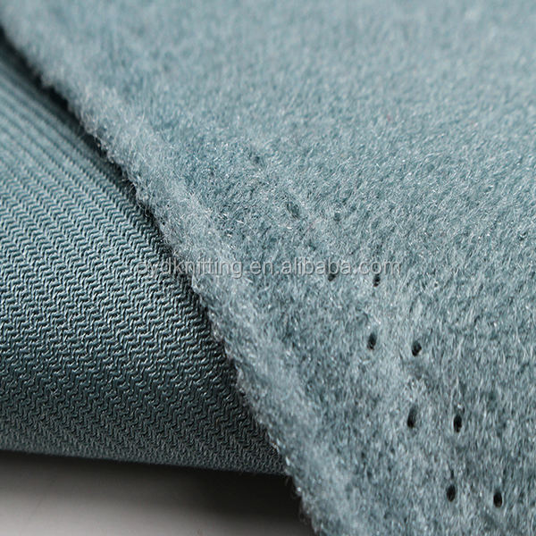 100% Polyester Automotive Upholstery Fabrics Velour for Car Seat