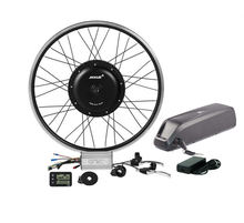 48v 1000w high quality electric bike kit brushless rear motor wheel of ebike conversion kit