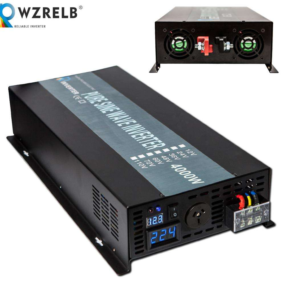 4000W dc ac Off Grid Pure Sine Wave Inverter for Solar Power System