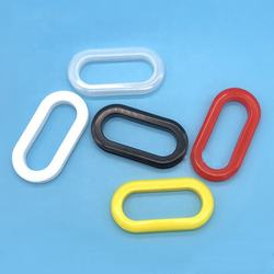 Plastic punch carton handles for carton boxes