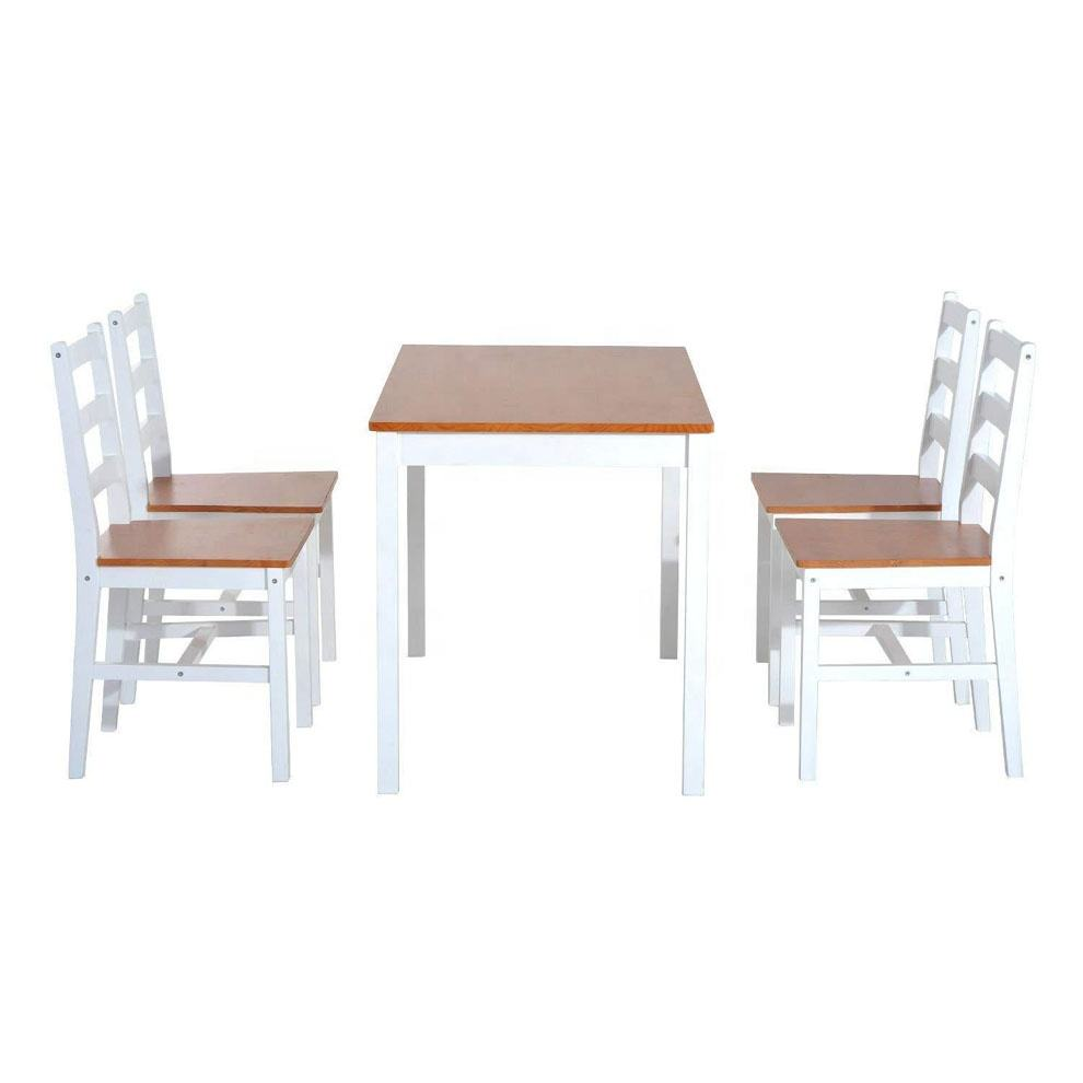 SG-LL104 wooden dining table and chairs