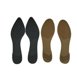 Customization fo PVC sole  Ladies flat pointed toe shoe sole