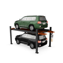 CE Approved 4 Post Hydraulic Garage Parking Lift