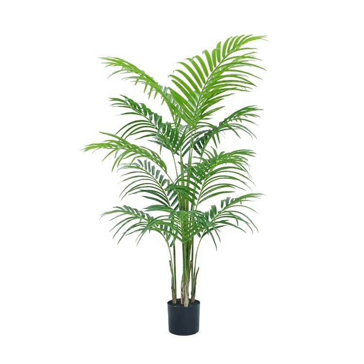 Lifelike Potted Smart Table Decorations Faux Miniature Plastic Tree Artificial Plant