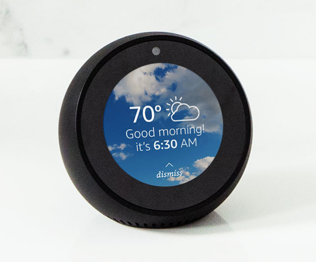 2.47/2.5 inch round lcd display for echo spot