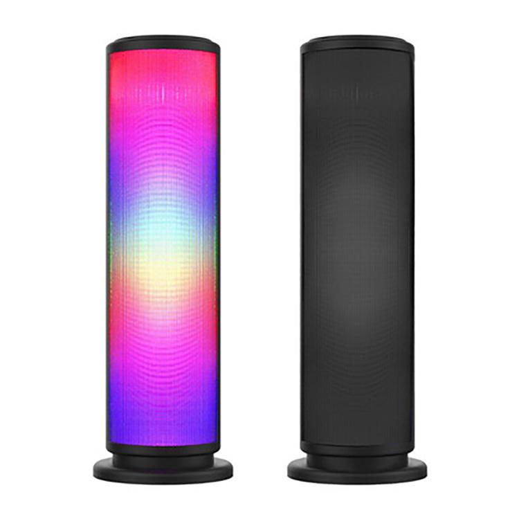 Nouveau Basse Sound Magic Colonne Portable Lecteur de Musique LED Lumière Sans Fil Bluetooth Haut-Parleur
