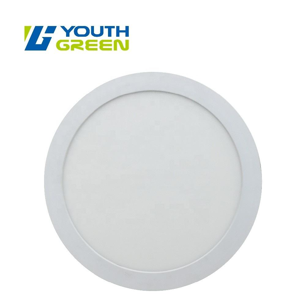 cETL ETL 12W Round LED Surface Mounted LED Panel Light 7 inches Dimmable
