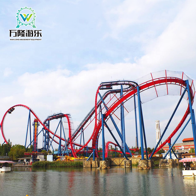Wholesale large amusement rides roller coaster in china