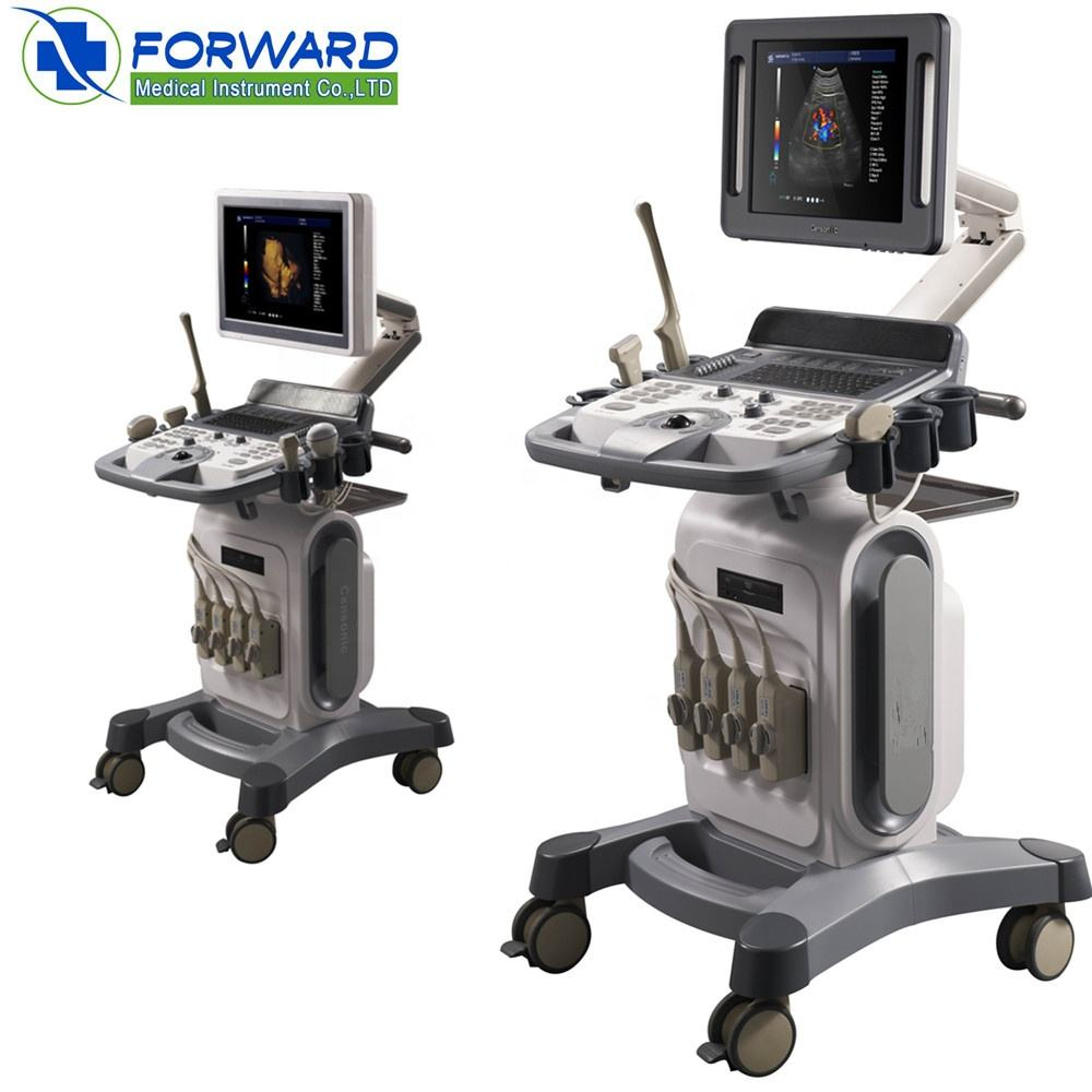 3D,4D portable doppler color ultrasound machine for women with baby