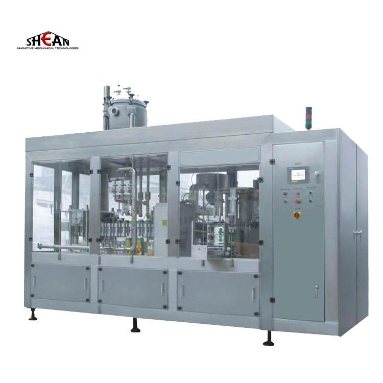 Water Packaging Machine Automatic Pet Bottle Beverage Juice Mineral Water Liquid Filling Packing Bottling Machine For Production Line