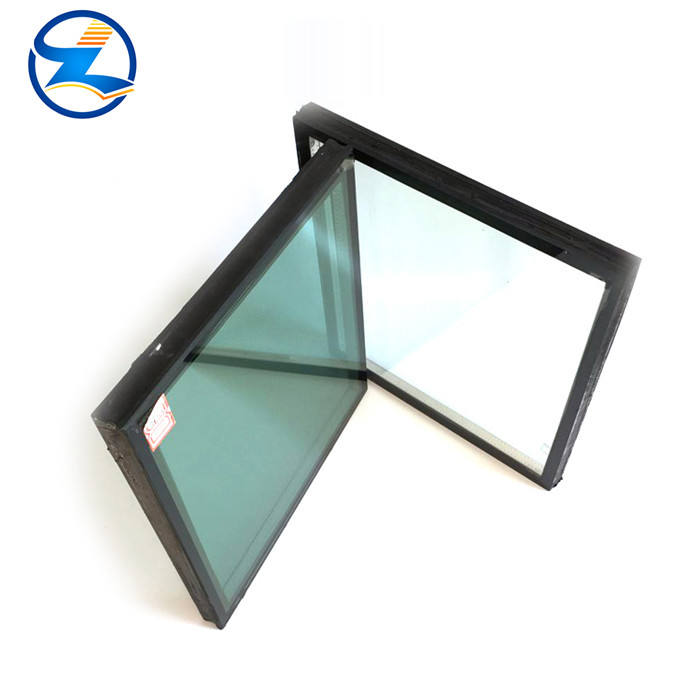 New arrival thin double pane glass tempered laminated roof wall art picture in low price