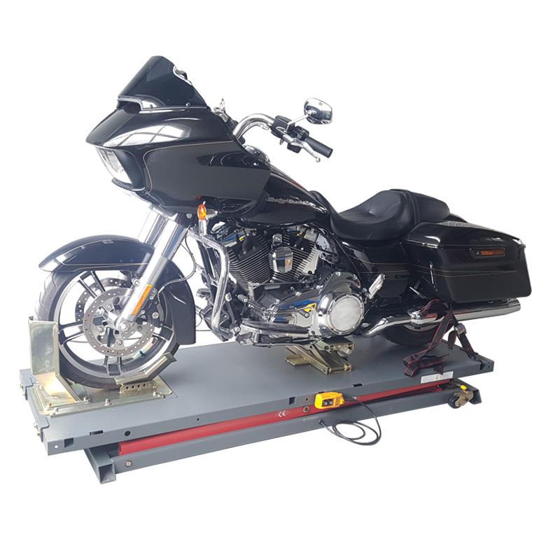 H970 900 kg nez roue disponible hydraulique jack réparation moto table élévatrice