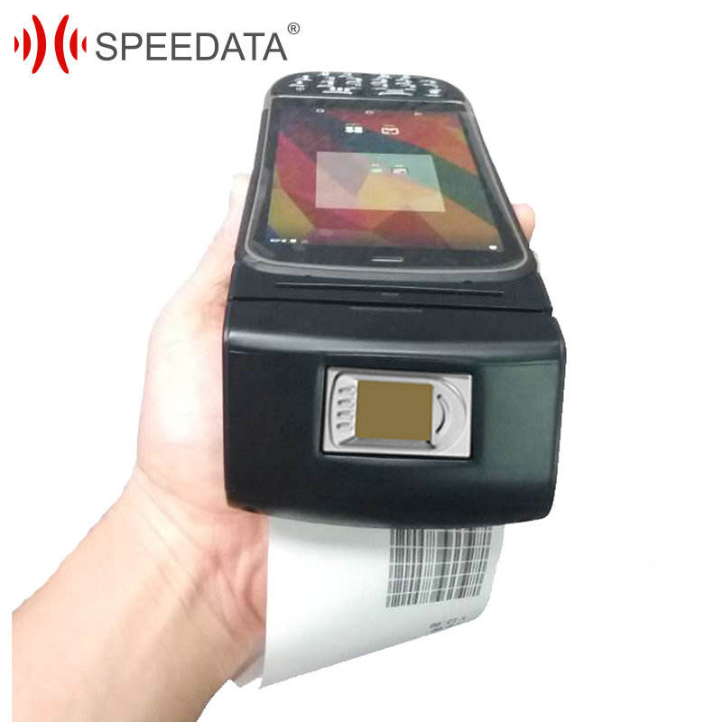 mobile PDA Robusto android tenuto in mano <span class=keywords><strong>pos</strong></span> stampante termica con rfid lettore <span class=keywords><strong>di</strong></span> smart card 2D Scanner <span class=keywords><strong>di</strong></span> Codici A Barre