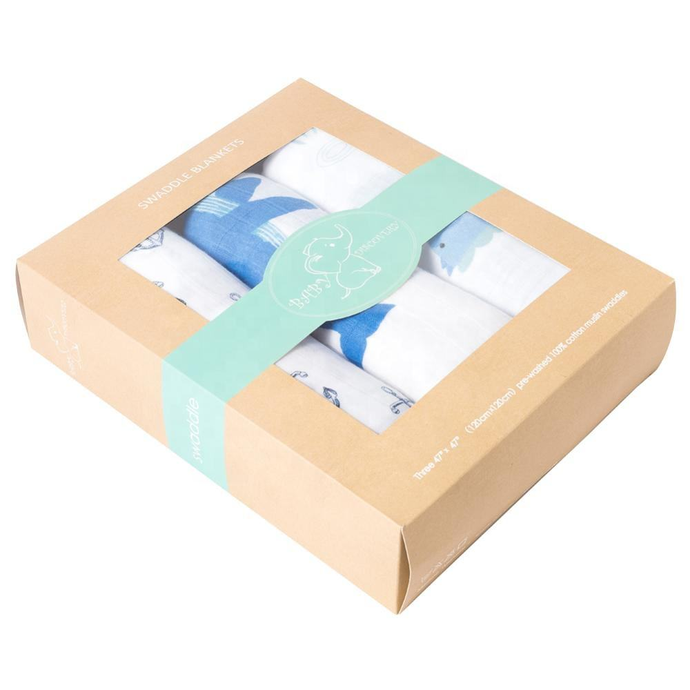 high quality breathable 100% organic cotton baby swaddle blanket muslin