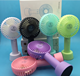 Factory HOT Wholesale N9 Rechargeable Mini Fan Portable Macaron Handheld USB Fan N9 Foldable Clip Hand Fan