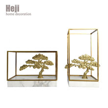 Modern Creative Gold Article Brass Tree Shape Home Furnishing Decoration