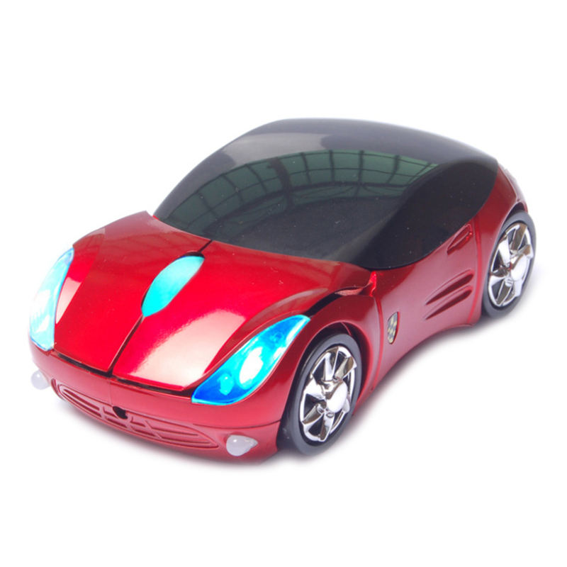 Hot Selling Wireless 3D USB Cute Mouse As a Car Shape Computer Mouse