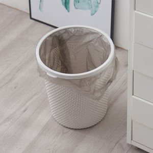 2019 new product color customized waste bin without lid