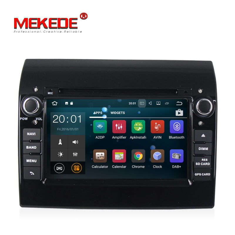 "Mekede 7 ""PX3 Quad Core Android 8.1 Car Radio GPS Navi mit DVD Player For FIAT Ducato 2008-2016 Citroen Jumper für PEUGEOT BOXER"