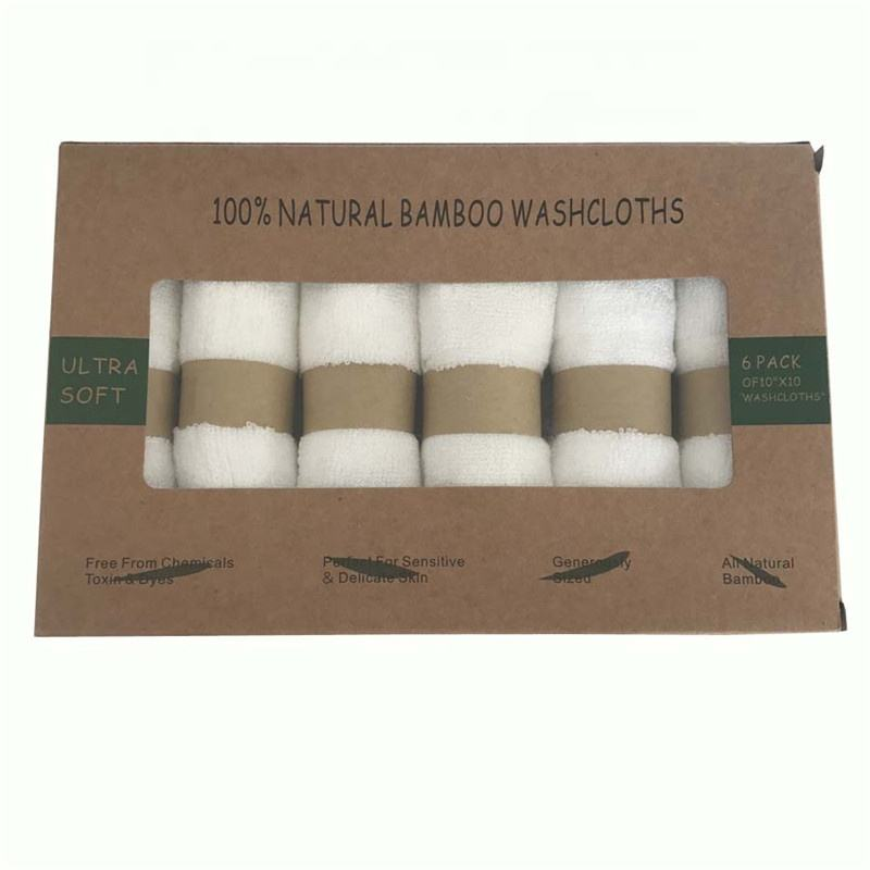 Sample payment -Alibaba bamboo towels 100% Organic Bamboo terry cloth Baby Face Towel buyers baby bamboo washcloths