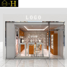 Simple jewelry showroom counter design counter jewelry displays