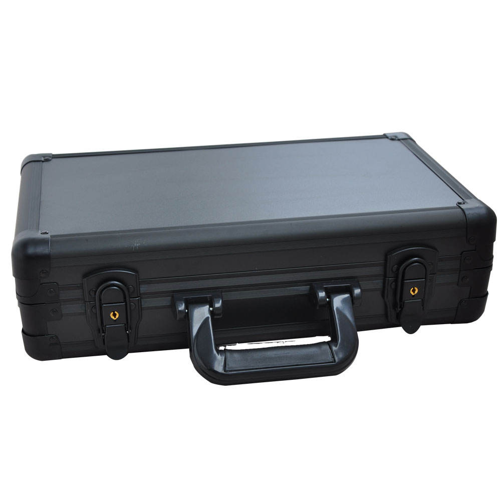 Lockable aluminum tool Case Camera with Variable Dividers sample case