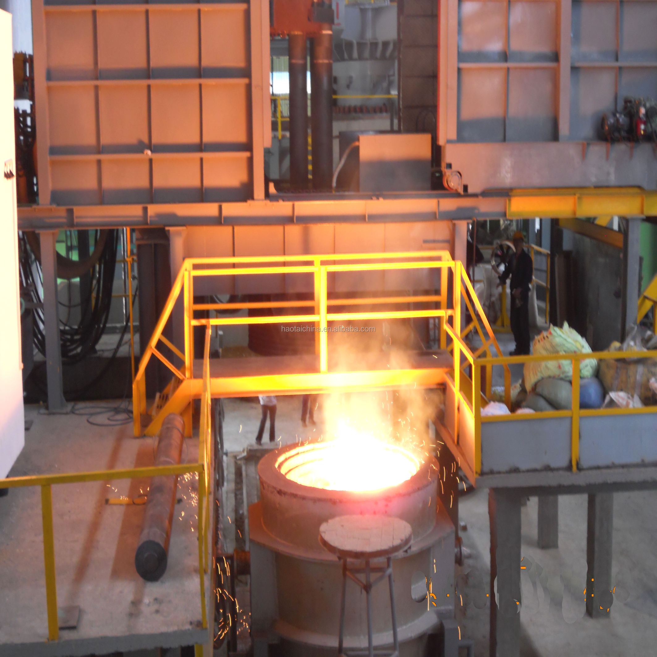 100kg small electric arc melting furnace for steel scrap