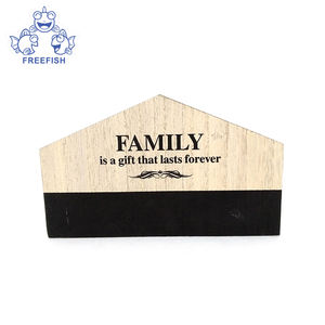 Wooden Desk Organizer - Multifunctional Desktop Office Supplies Holder Display Box  Wood Magazine Rack with letters