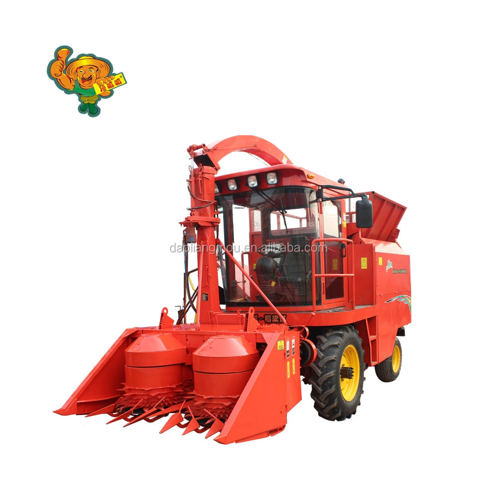 Grass cutting machine corn silage harvester output silage more than 30tons/h