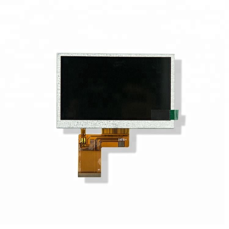 Luz solar Legível 4.3 polegada 480x272 De Alto Brilho TFT LCD Display Module