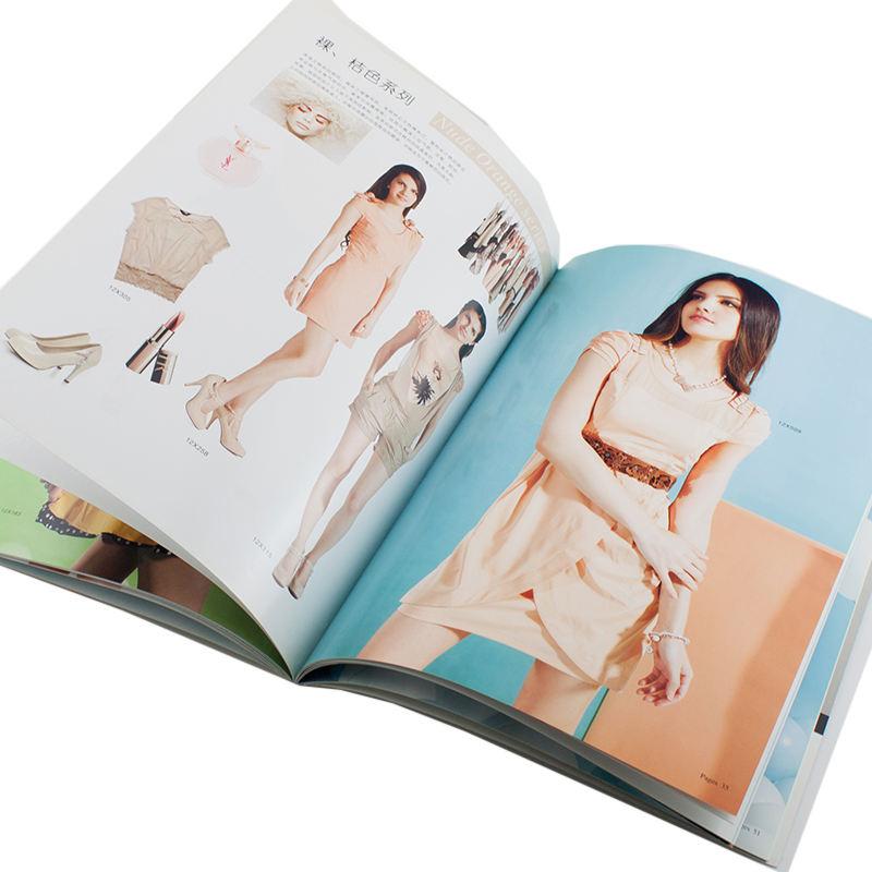 Prezzo di fabbrica All'ingrosso Su Misura Vestito Collocazione Catalogo Brochure Stampa per L'indumento